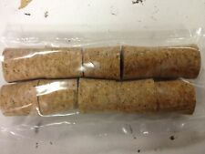 Home Brew & Winemaking -10 Solid Cork Bungs To Fit Standard 1 Gallon Demijohn