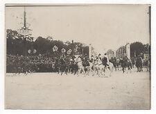 Photo ancienne Guerre 14-18 Défilé la Victoire 14 juillet 1919 Paris Militaire