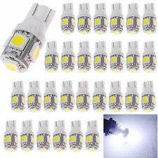 100x T10 LED W5W 168 194 5SMD 5050 Car Wedge Side License Plate Light Bulb White