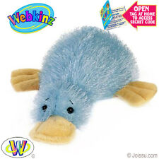 Webkinz  Blue Duck Billed PLATYPUS New with TAGS & Un-used Code