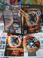 PC CD-Rom:X3 - Reunion 2.0 [TOP & 1ERE EDITION] COMPLET - Fr