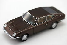 Vignale Fiat 125 Samantha (1967) 1:43 Resin, Braun, Begleit-Flyer Autocult 05005