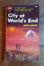 City at World's End, Edmond Hamilton,Crest Giant,(1951), 1st printing, PB