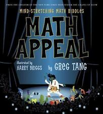 SCHOLASTIC MATH APPEAL RIDDLES HC DJ NEW BY GREG TANG !