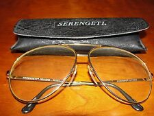 Serengeti Drivers Sunglasses 5225R ; Frames with clear prescription Lenses.