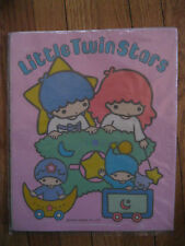 NWT Vtg Little Twin Stars LARGE Sticker 1976 New NIP Sanrio star baby moon puppy