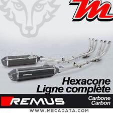 Ligne Complète Pot échappement Remus Hexacone carbone Race BMW K 1600 GTL 2016