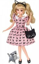 Takara Tomy Licca Doll Lovely Cat Dress (Doll Not Included)