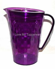 Tupperware  Ice Prisms Pitcher Purple 2 Quart