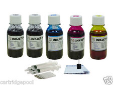 Refill Ink for Canon PG-30 40 50 CL-41 MP190 450 5X100ML SYRINGE
