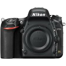 "Nikon D750 Body 24.3mp 3.2"" DSLR Digital Camera Brand New Agsbeagle"