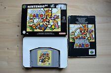 N64 - Paper Mario - (OVP, mit Anleitung)