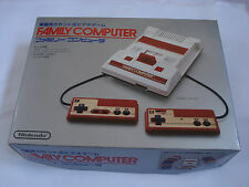 Nintendo Famicom Console HVC-001 Japan NTSC-J Boxed MINT Family Computer