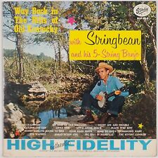 STRINGBEAN: Way Back in the Hills of Old Kentucky STARDAY Orig BLUEGRASS LP