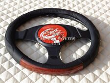BMW Z4 STEERING WHEEL COVER SWC 29 MAHOGANY TRIM MEDIUM