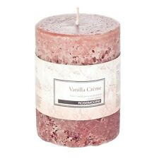 Rosemoore Home Fragrance 3242 Vanilla Creme Scented Pillar Candle