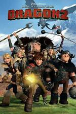 How to Train Your Dragon 2 : Cast - Maxi Poster 61cm x 91.5cm (new & sealed)