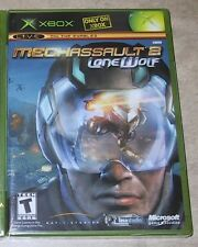 MechAssault 2 Lone Wolf NEW factory sealed XBOX black label USA version