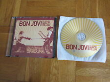 BON JOVI We Weren't Born To Follow 2009 HOLLAND collectors CD single acetate