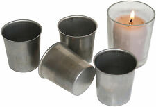 4 Votive Candle Making Moulds. Ideal for making beautiful votive candles