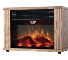 New Sharper Image FIREPLACE Electric Heater -New In Box -Sold Out In Stores