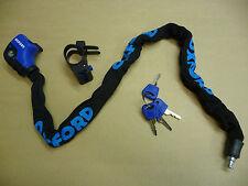 HERCULES Bicycle Bike Lock Keys 6mm x 900mm Chain Link Pick Resistant OF202