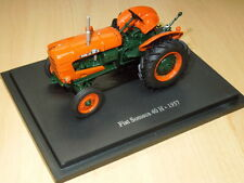 Fiat Someca 40 H 1957 Tractor Orange and Green 1.43 Model refbox4J