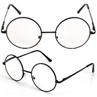 Retro Round Frame Designer Metal Rimmed Reading Glasses +1 +1.5 +2 +2.5 +3 Black