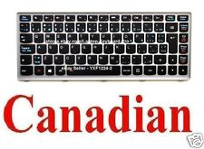 Lenovo IdeaPad Z400 P400 Keyboard - CA Canadian 25206037 T3F1B-FrEn MP-12J3