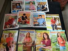 COUNTRY WOMAN Magazine Lot of 25 Recipes crafts GARDEN Home FARM RANCH living