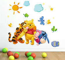 WINNIE THE POOH  WALL STICKER DECAL NURSERY TOYS/KIDS ROOM MURAL