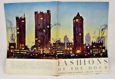 Marshall Field & Co FASHIONS OF THE HOUR Autumn 1936 Chicago