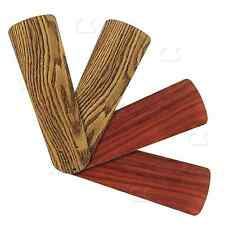 """Replacement Blades for 38"""" - 42"""" Ceiling Fan 4/pack Dark Oak / Mahogany _328-B06"""
