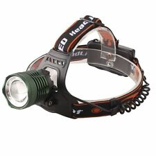 Zoomable 2500LM XML T6 LED Rechargeable Headlamp Headlight Lamp Light w/ 3Modes