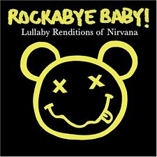 Rockabye baby Nirvana lullaby CD alternative goth punk rock metal