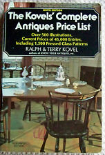 "VINTAGE 1976 ""THE KOVEL'S COMPLETE ANTIQUE PRICE LIST"" (USED) (4321)."