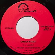 JOE QUIJANO y SU CONJUNTO ~ CANCION MIXTECA salsa 45 on SEESTA NM- HEAR IT
