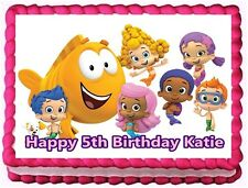 BUBBLE GUPPIES EDIBLE CAKE TOPPER BIRTHDAY DECORATIONS