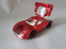Majorette Red Mirror Finish Ferrari F.40 Car #280 Ech 1:56 France (Mint)