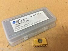 1x New ATI Stellram TM21N10UN (10 Tpi UN) Carbdie Threading Mill Inserts CI9