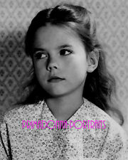 NATALIE WOOD 8X10 Lab Photo B&W 1940s Adorable Child Actress Portrait