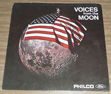 Voices from the Moon APOLLO 11, JULY 20 1969 MOON LANDING PHILCO Ford FREE CD