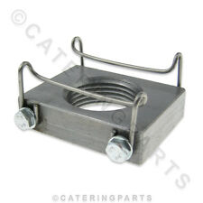 VALENTINE 663 PENSION 1 2 94 ZENITH ELECTRIC FRYER OIL DRAIN BLOCK & SPRING 663