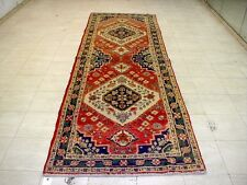 11X4 1940's SUPERB AUTHENTIC HAND KNOTTED 70+YRS ANTQ TABRIZ PERSIAN RUG RUNNER