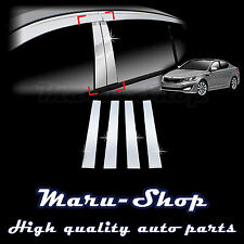 Chrome B-Pillar Post Decal Sticker Trim for 11~15 Kia Optima