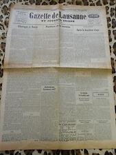 GAZETTE DE LAUSANNE ET JOURNAL SUISSE - n° 169, 20/06/1941