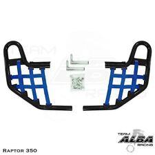 Yamaha Raptor 350   Nerf Bars   Alba Racing Pro Elite Black/Blue 209-T1-BL