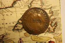 1860 NEWFOUNDLAND FISHERIES RIGHTS & RESPONSIBLE GOV'T TOKEN - SUPER RARE nf665