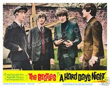 A HARD DAYS NIGHT LOBBY SCENE CARD # 7 POSTER BEATLES LENNON McCARTNEY FAB FOUR