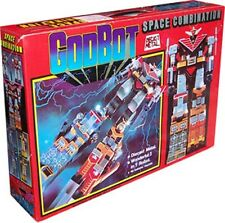 Godbot Space Combination 1980 Die Cast Taiwan Version 100% NEW DHL